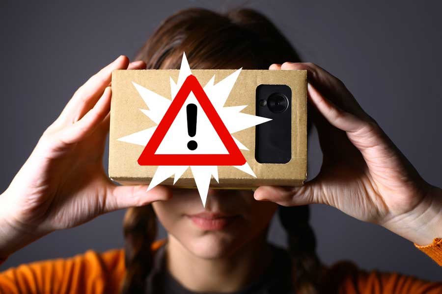 Is it risky to apply VR?