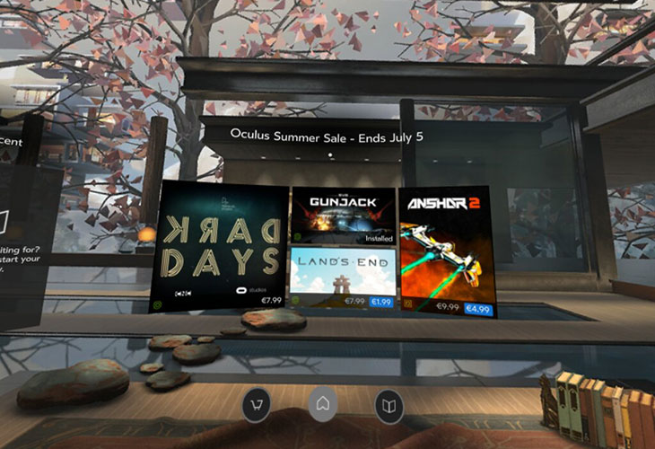 Oculus home update for gear vr ar vr magazine for Vr for home